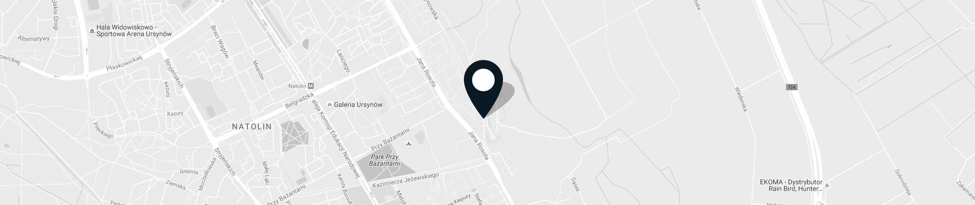 Natolin Campus on map