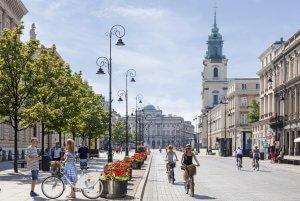 Krakowskie Przedmieście in Warsaw
